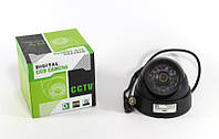 Камера видеонаблюдения Digital Camera 349 (100), купольная поворотная камера, мини камера с подсветкой