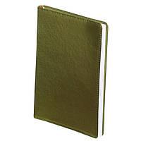 Щоденник недатований METALLIC, A5, 288 стр. салатовийBM.2033-15
