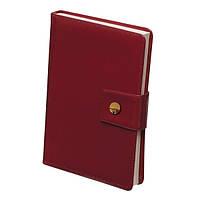 Ежедневник недатированный DREAM, A5, 288 стр. красный