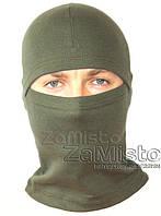 Шапка-маска Балаклава х/б (зеленая)