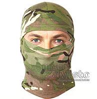 Шапка-маска Балаклава лайкра-х/б (камуфляж)