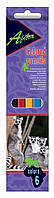 Карандаши цветные Economix Africa , 6 шт.E11609