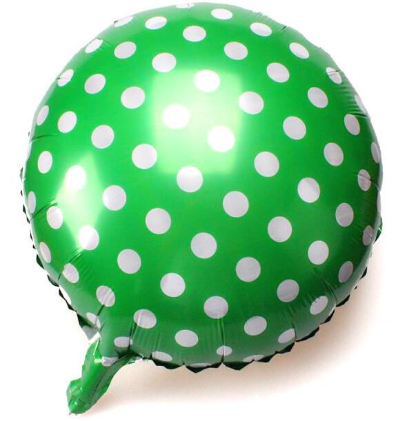 фольгированный шар полька