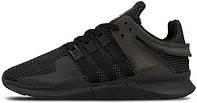 Мужские кроссовки Adidas EQT Support ADV Triple Black, адидас