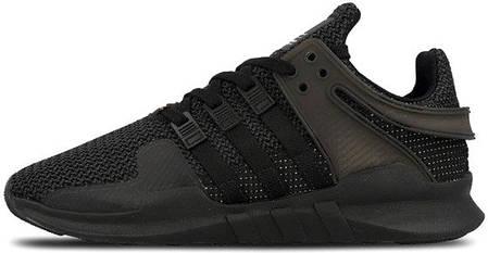 Мужские кроссовки Adidas EQT Support ADV Triple Black CP8928, Адидас ЕКТ, фото 2