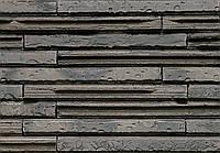 Клинкерный кирпич Terca Cassia graphite black long 495/95/48
