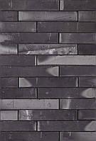 Клинкерный кирпич Terca Linnaeus graphite black long 288/88/48