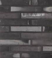 Клинкерный кирпич Terca Linnaeus graphite black eco long 288/65/48