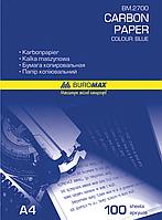Папір копіювальний 210x297мм, 100 арк., синійBM.2700