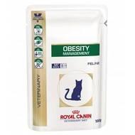 Консервы(влажный корм) для кошек при ожирениии и избыточном весе Royal Canin OBESITY MANAGEMENT S/O 100г,12 шт