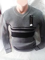 Мужской молодежный тонкий свитер 46-48 рр