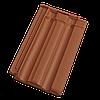 Керамическая черепица Tondach Фальцовка 11 рядовая медно коричневая ангоб