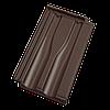 Керамическая черепица Tondach Границе 11 рядовая коричневая ангоб