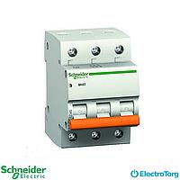 Автомат домовой ВА63 3П 63A C Schneider electric