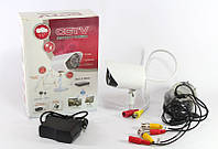 Камера видеонаблюдения CAMERA 529 AKT, внешняя цветная камера видеонаблюдения CCTV 529 AKT c держателем