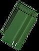 Керамическая черепица Tondach сулм рядовая зеленая F421y глазурь
