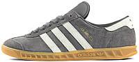 """Мужские кроссовки Adidas Hamburg """"Grey"""", адидас"""