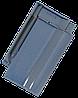 Керамическая черепица Tondach сулм рядовая светло-синя глазурь