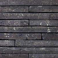 Клинкерный кирпич Terca Wasserstrich special zwart lathi long 495/100/38