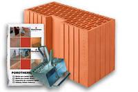 Керамический блок Porotherm 44 R Profi 440/186/249