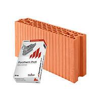 Керамический блок Porotherm 11,5 Profi 115/498/249