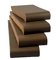 Подоконник клинкерный Zagan OK28 280/110/25 коричневый ангоб