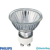 Лампа галогеновая Tw Alu 2000h 50W GU10 230V 40D 1CT/10X5F Philips