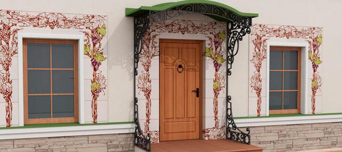 Декоративная Плитка для Фасада