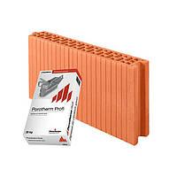 Керамический блок Porotherm 8 Profi 80/498/249