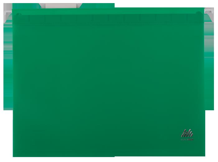 Підвісний файл А4, пластиковий, зеленийBM.3360-04