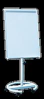 Флипчарт магнитный сухостираемый мобильный, 70 х100см, алюминиевая рамка