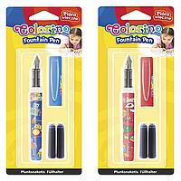 Ручка перьевая в блистер упаковке + 2 картриджа57516PTR