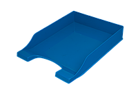 Лоток пласт. дпап. гориз. Симетрія, непрозорий, голубий80811