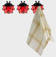 """Набор крючков для полотенец """"Ladybird"""""""