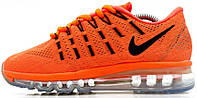 Женские кроссовки Nike Air Max 2016 Orange, найк, аир макс