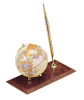 Глобус Bestar на деревяной подставке орех 0910WDN