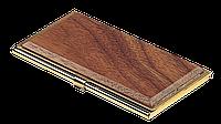 Футляр для визиток металлический Bestar орех 1327WDN