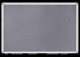 Дошка магнітно-текстильна, 60x90см, ал. рамкаBM.0020