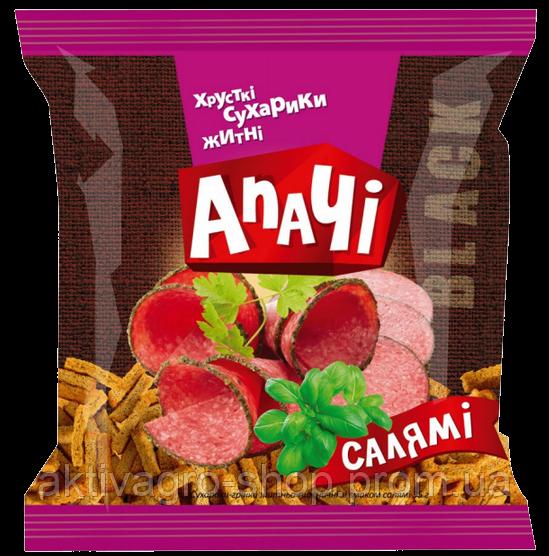 "Ржаные сухарики Апачi со вкусом ""Салями"""
