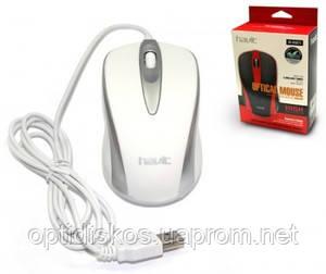 Оптическая мышь HAVIT HV-MS 675 Белая, фото 2