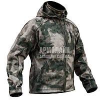 "Куртка SoftShell ""DIVISION"" A-TACS FG, фото 1"