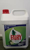 Средство для мытья посуды Fairy 5л (Германия, яблоко)