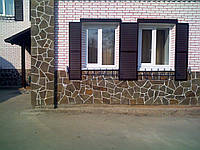 Облицовка фасада натуральным камнем, фото 1