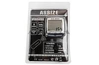 """Велокомпьютер   """"ASSIZE""""   (беспроводной)   (mod:AS-8000)   (#SVT)"""