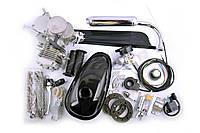 """Двигатель велосипедный (в сборе)   80сс   (мех.старт., бак, ручка газа, звезда, цепь, mod:1)   """"EVO"""""""