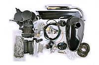 """Двигатель велосипедный (в сборе)   80сс   (мех.старт., бак, ручка газа, звезда, цепь, mod:2)   """"EVO"""""""