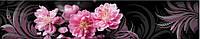 Стеклянный кухонный фартук - Цветы