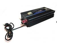 Преобразователь напряжения ( Инвертор) 12V-220V 3000W Вт. + ЗАРЯДКА UKC