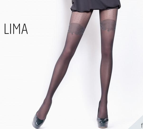 Колготки женские с эффектом чулка LIMA 20 (9)