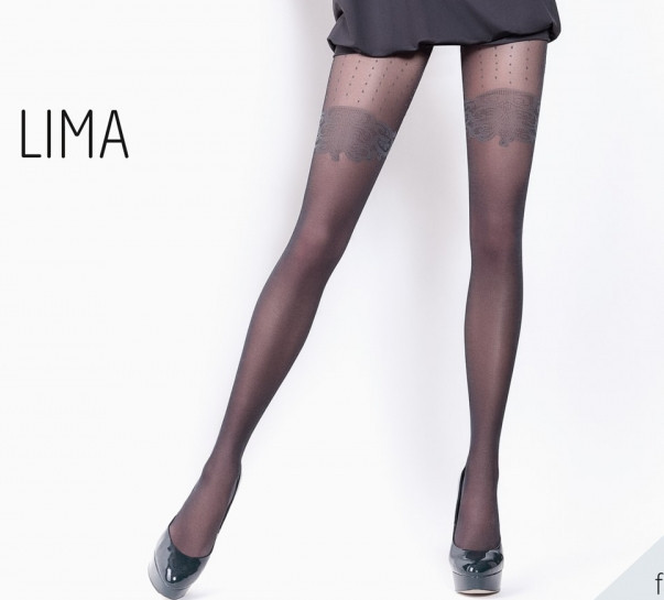 Колготки жіночі з ефектом панчохи LIMA 20 (9)